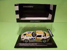 MINICHAMPS 113221 MERCEDES BENZ SLS AMG GT3 - 24h NURBURGRING 2013 - 1:43 - NMIB