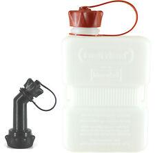 FUELFRIEND-PLUS CLEAR 1 Liter Mini-Benzinkanister + Füllrohr verschließbar