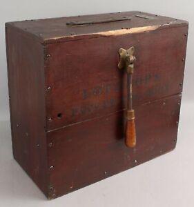 Antique Nautical Ships Lothrops Patent Fog Horn No. 2.  NO RESERVE!