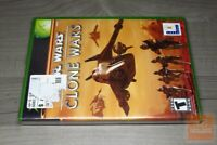Star Wars: The Clone Wars Retail Release (Xbox 2003) FACTORY SEALED! - RARE!