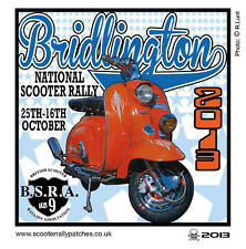 2013 BRIDLINGTON SCOOTER RALLY RUN  PATCH MODS SKINHEADS not PADDY SMITH