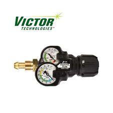 Victor Inert Gas Argon Regulator Edge 20 Flow Gauge Ess32 80cfh 580 0781 3