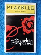 The Scarlet Pimpernel - Minskoff Theatre Playbill - November 1998 - Andreas