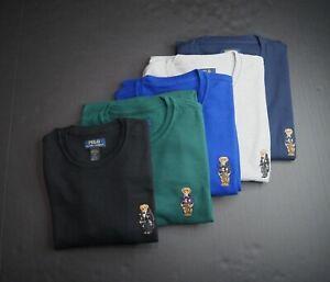 POLO RALPH LAUREN Men's Polo Bear Waffle Knit Thermal Sleep Shirt NWT
