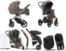 BEBETTO 4IN1 LUCA Stroller Passeggino Kinderwagen ✔ Autositz Cybex Aton✔ 11 Grey