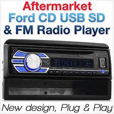 Ford Focus Transit Car CD Player USB MP3 FM Radio Facia Fascia Kit Single 1 DIN