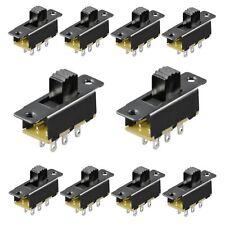 2 x Mini Schiebeschalter Schalter abgewinkelt max 24V EIN//AUS 8,5 x 4,5 mm