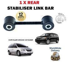 FOR CHRYSLER GRAND VOYAGER 2.0 2.4 2.5TD 2.8TD 3.3i 1 X REAR STABILISER LINK BAR