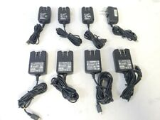 Lot Of 8 Mixed Brands 5V Mini Usb Travel Ac Power Adapter Charger