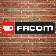 Facom Tools Banner Garage Workshop PVC Sign Trackside Car Display