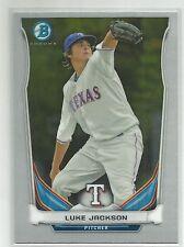 Luke Jackson Texas Rangers 2014 Bowman Chrome Baseball