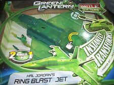 DC Comics Green Lantern Ring Blast Jet Transforms into tank sounds lights sets