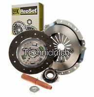 LUK 3 PART CLUTCH KIT FOR RENAULT 20 HATCHBACK 2.1 DIESEL