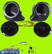 SSV Works Front Kick Panel Rockford Speaker For Yamaha YXZ 1000 YZ-FKP65-RFM
