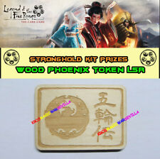 LEGEND OF THE FIVE RINGS LCG - Wood Phoenix Token FFG Promo Stronghold Kit
