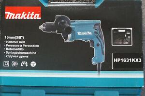 Makita Makita Schlagbohrmaschine HP1631KX3 inkl. 74tlg. Zubehörset Auktion1