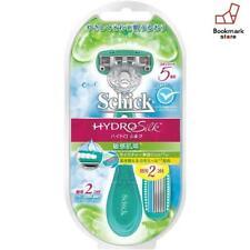 NEW Schick HYDRO Silk For Sensitive Skin Razor for Women Holder+Spare Blade x 2