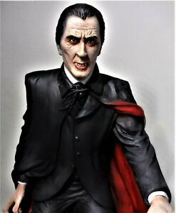 Christopher Lee Resin Professionally AIR BRUSHED PAINTED built model AURORA