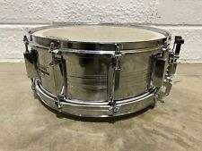 "Yamaha SD-755MD Chrome over Steel 14"" x 5.5"" 10 Lug Snare Drum #SN097"