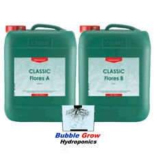 CANNA CLASSIC FLORES A&B 2 X 5L HYDROPONIC BLOOM FLOWER NUTRIENTS
