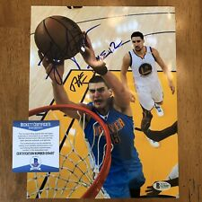 "Nikola Jokic Signed Autographed 8.5x11 Photo Picture BAS Beckett COA ""The Joker"""