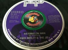 Fred Wesley & The JB's Watermelon Man Alone Again Funk 45 Vinyl Piranha Records