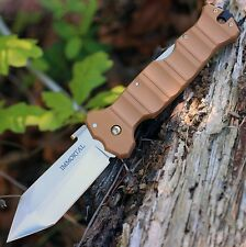 Couteau Cold Steel Immortal Tanto Lame Acier CTS-XHP Manche Tan G-10 CS23GVB