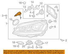 VW VOLKSWAGEN OEM 07-11 Eos Headlight Head light lamp-Motor 3D0941295