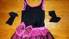 """WEISSMAN"" & ""BALERA"" GIRLS 3-PIECE DANCE / PAGEANT COSTUME (SIZE: CHILD LG)"