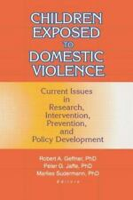 Children Exposed to Domestic Violence: Current Issues in Research, Int-ExLibrary