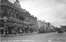 1940s Neosho Newton Missouri West Side Square Sterling Store Blake Photo RPPC