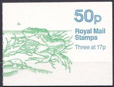 GB 1986 Booklets, FB33, 50p, Pond Life - No 2, Starred, Cyl. B36 (B67) at top