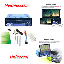 Touch Car GPS Navigation MP5 Player Bluetooth FM Radio Video 7 Colors Backlight