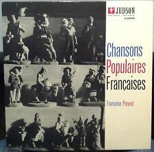 FRANCOISE PREVOST chamsons populaires francaises LP Mint- L3008 Vinyl 1957