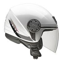 GIVI CASCO JET SOLID BIANCO LUCIDO 10.4 MOTO SCOOTER HELMET WHITE GLOSS