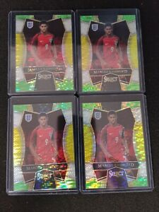 (4)2016-17 Select Marcus Rashford MULTICOLOR Prizm True Rookie #151 Lot