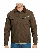Woolrich men's dark brown Telluride men's Sherpa Canvas Jacket size Medium M