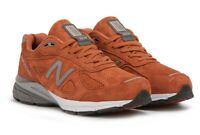 """New Balance 990V4 Men's Size 9.5 D Running Shoes Jupiter """"Burnt Orange"""" M990JP4"""