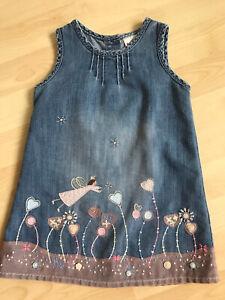 Baby Girl Next Denim Pinafore Dress (18-24 Months)