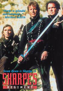 Sharpes Regiment DVD Sean Bean 1996 - 1 Hour 40 Mins - REGION 1 USA RELEASE