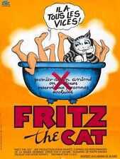 Fritz The Cat Poster 02 Metal Sign A4 12x8 Aluminium