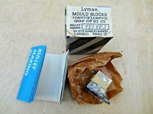 LYMAN 457483 MOLD BLOCKS , NOS.