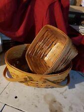 2 Longaberger Baskets