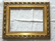 Superbe CADRE LOUIS XVI en bois et stuc doré, époque NAPOLEON III, fin du 19ème