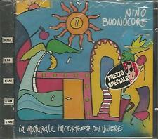 """NINO BUONOCORE """"La naturale incertezza del vivere"""" CD SEALED"""
