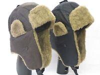 RJM Mens Winter Trapper Hat GL366