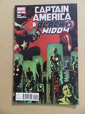 Captain America And Black Widow  637 . Marvel 2012 . VF - minus