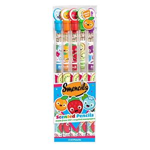 NIP Set of 5 Smencils Scented Graphite Pencils HB #2 GIFT Ship FREE