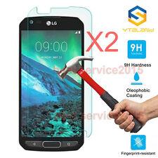 2Pcs 9H+ Premium Tempered Skin Glass Screen Protector For LG X Venture H700