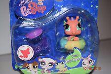 Littlest Pet Shop #802 --Sportiest Seahorse --- Age 4+, HTF, Rare, NIP